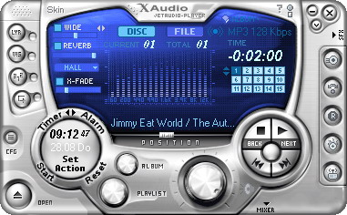 jetAudio 7.0.3 Basic - медиа центр