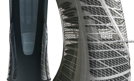 Euroscraper, Небоскреб