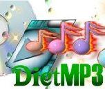 DietMP3 4.03 - сжатие MP3