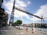 Удивительный мост в Бильбао