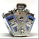 Модинг в виде 8-цилиндрового двигателя