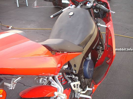 evDaytona, Мотоцикл