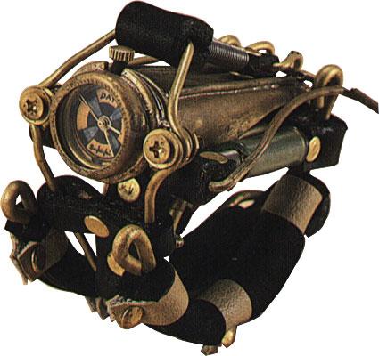 Часы, Стимпанк