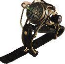 Японские часы в стиле стимпанк
