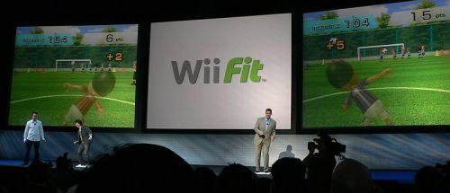 Е3 07: Nintendo показала Wii Fit