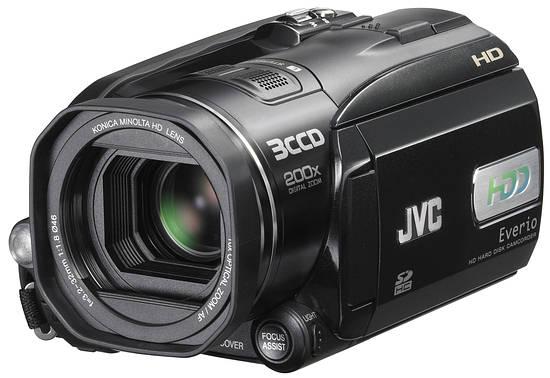 JVC: доступная HD-камера - HD Everio GZ-HD3
