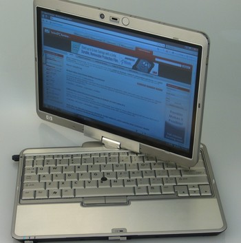 Compaq 2710p от HP: легкий и мощный Tablet PC