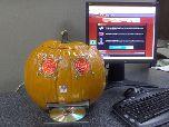 Компьютер на Хэллоуин