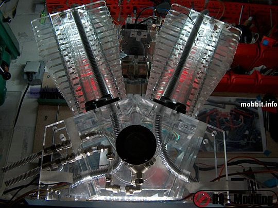 Моддинг в виде двигателя V2