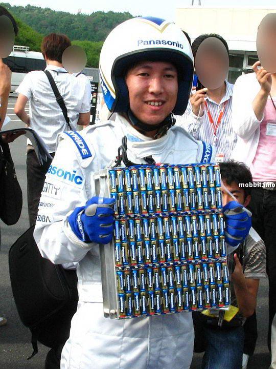Panasonic Oxyride – электромобиль-рекордсмен на AA батарейках