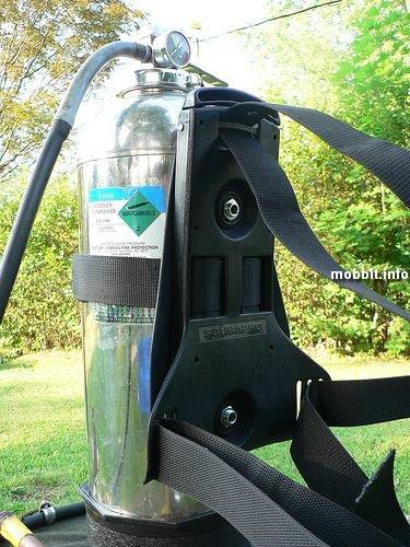 Мега-шлем с водным ружьем