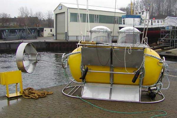 2Dive - самодельная подводная лодка