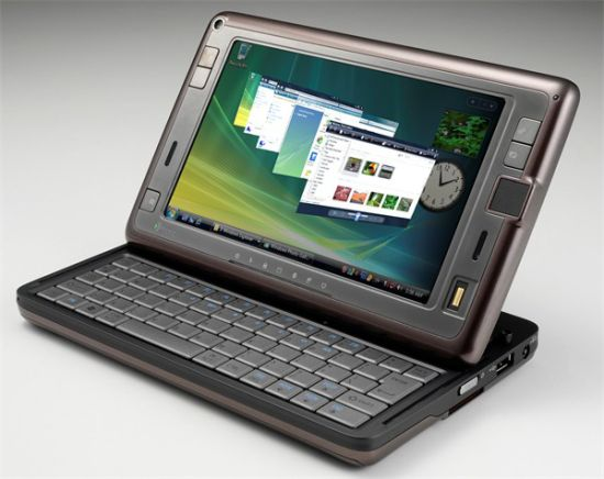 Двухпроцессорный UMPC Shift от HTC
