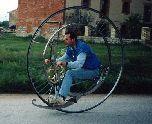 Самодельный моноцикл