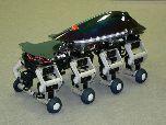 Восьминогий робот Halluc II: пешком и на колесах
