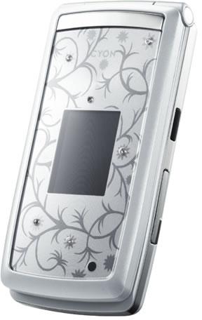 Иммиджевый телефон LG Cyon Crystal Edition