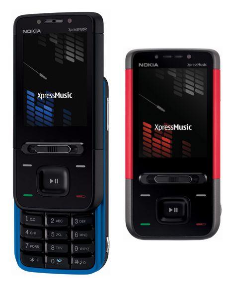Телефоны Nokia 5310 и Nokia 5610 для меломанов