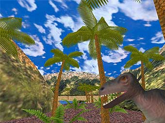 Age of Dinosaurs 3D Screen Saver 7.9 -  скринсейвер