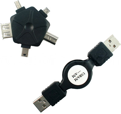 Переходник «ромашка» USB 5-в-1