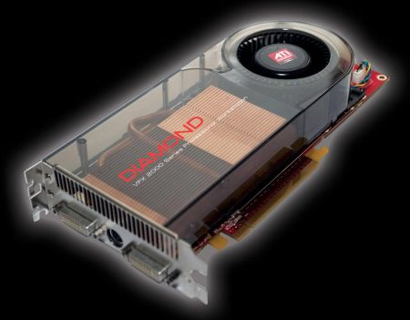 Diamond готовит VFX 2000, ускоритель с 2 Гб GDDR4