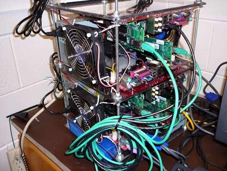 Компактный суперкомпьютер на процессорах AMD