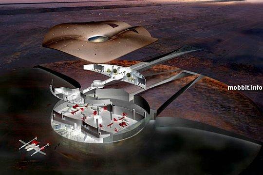 Строится первый в мире космопорт