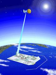 Очередной шаг к космической солнечной электростанции