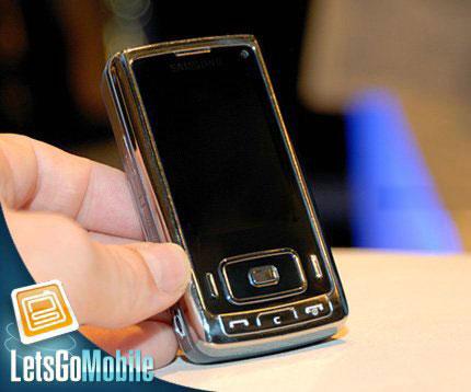 Samsung SGH-G800 – первые живые фото