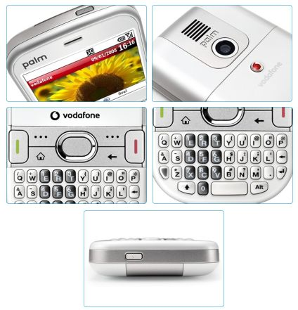 Treo 500v: новый смартфон от Palm