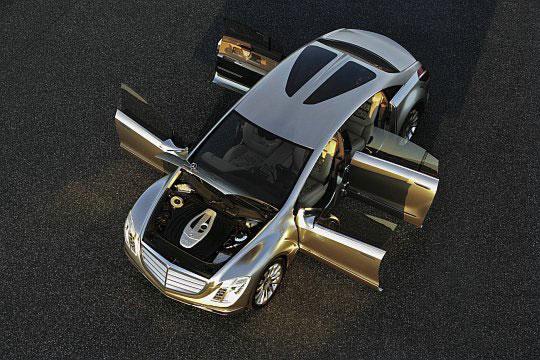 Mercedes F700 – потрясающий концепткар