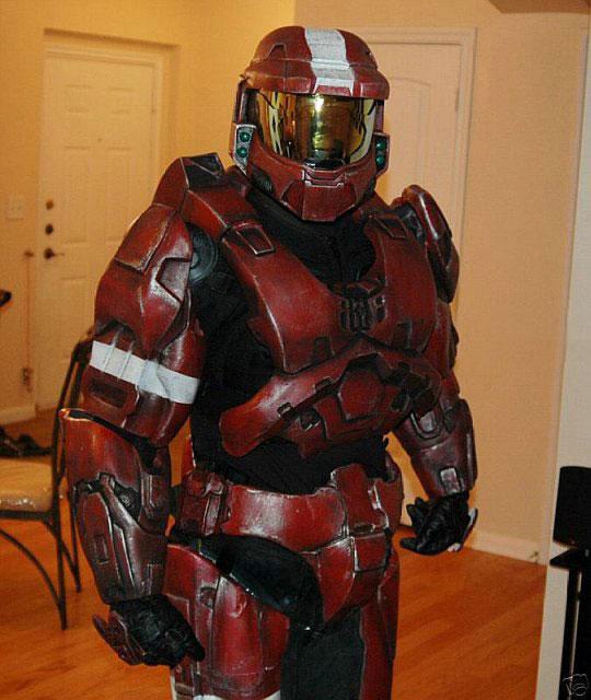 Костюм Halo 3 Spartan Master Chief на eBay