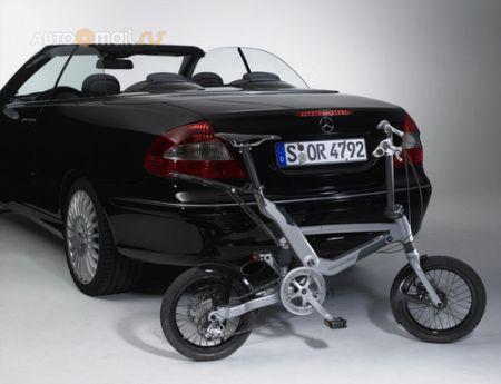 Mercedes придумал новый велосипед