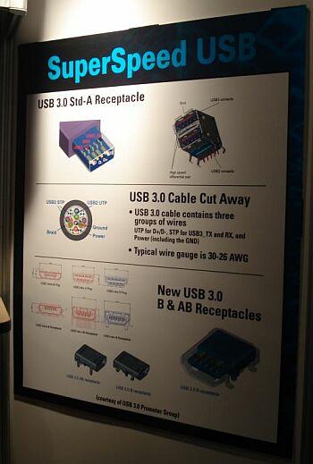 Первые фото интерфейса USB 3.0
