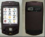 Коммуникатор HTC P6500 с GPS и биометрическим сканером