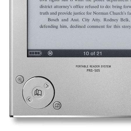 Sony Reader PRS-505 появляется в продаже