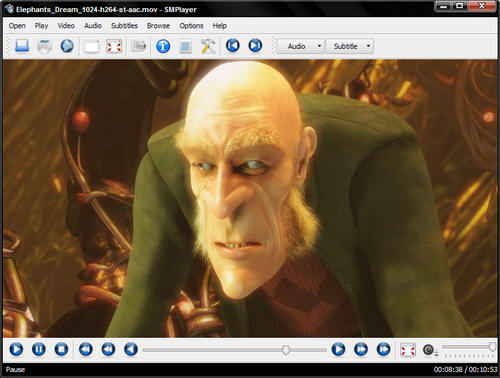 MPlayer for Windows 2007-09-30 - медиаплеер