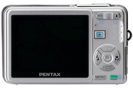 Pentax выпускает 12-Мп камеру Optio A40
