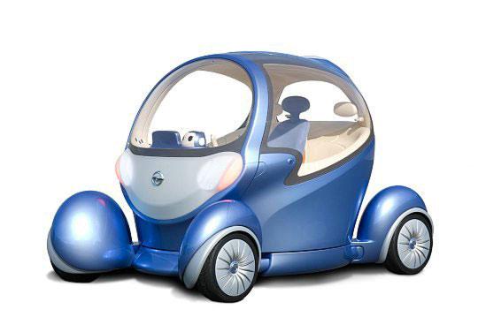 Nissan Pivo 2 – новый электрический концепткар