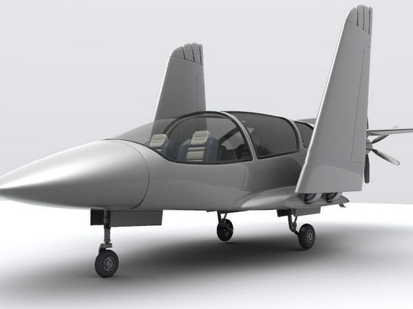 Русский аэромобиль - «ЛАРК-4»