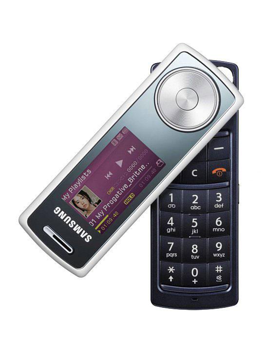 Три новых музыкальных телефона Samsung