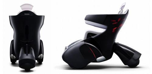 Кресло-автомобиль i-REAL от Toyota