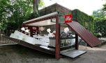 Контейнер превращается…в уютное кафе!