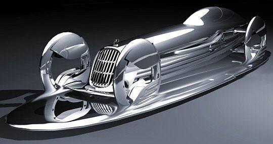 Mercedes-Benz SilverFlow – еще один концепт будущего