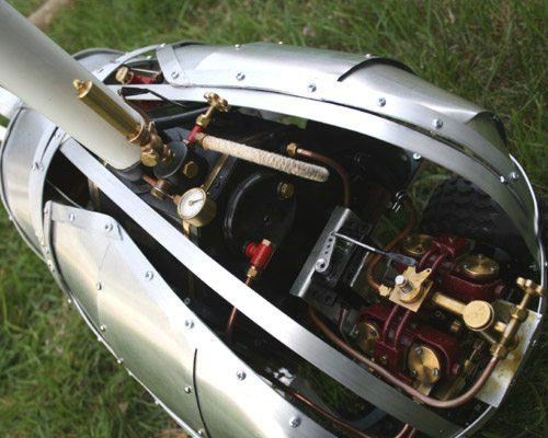 «Паровой» жук на радиоуправлении