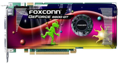 Foxconn: анонс GeForce 8800 GT, раньше срока