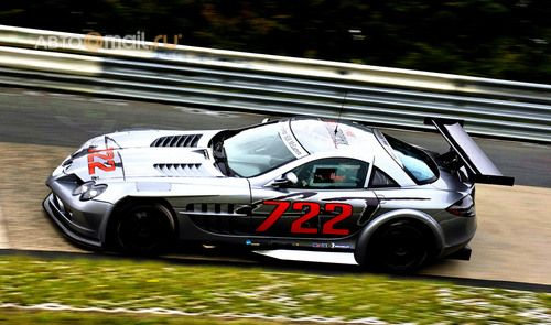 Показан самый быстрый Mercedes SLR McLaren