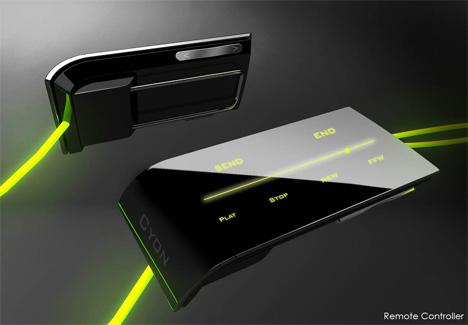Оригинальный концепт сенсорного телефона от LG