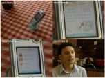Мобильный телефон помогает готовить ужин