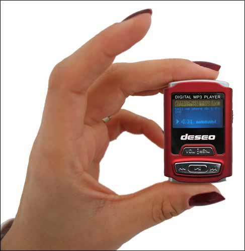 Спортивный MP3-малыш MEM-P3 deseo от takeMS