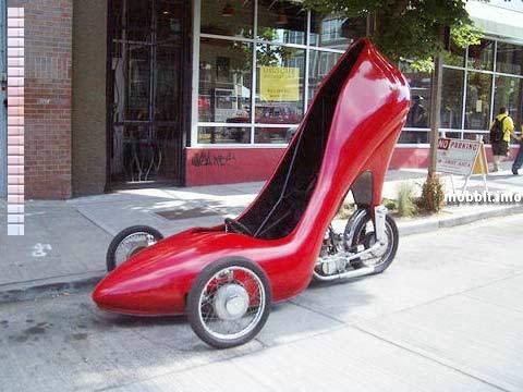 Автомобили в виде обуви